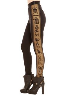 GYPSY WARRIOR - Egyptian Leggings on Wanelo