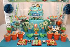 Octonauts Under The Sea Birthday Party Ideas | Photo 26 of 27 | Catch My Party