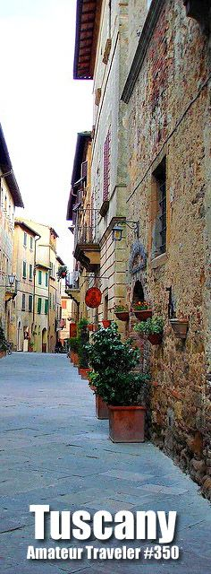 Travel to The Hill Towns of Southern Tuscany – Amateur Traveler Episode 350