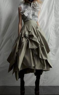 Definitive Deconstruct Skirt by Maticevski