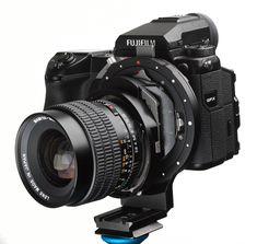 HCam.de DRS Shifter Mamiya 645, Pentax 645/ 67 or Hasselblad V/F for GFX - Fuji Addict Classic Camera, Fujifilm