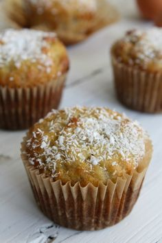 Almond Flour Banana Muffins with Coconut