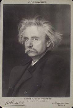 Edvard Grieg - Source: Benjamin R. Tucker papers, 1860s-1970s, bulk (1870s-1930s)