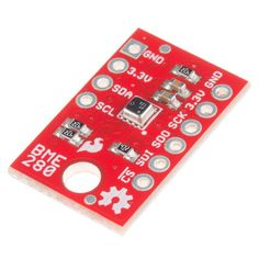 Measure pressure + humidity + temp with *BME280* hookup guide https://learn.sparkfun.com/tutorials/sparkfun-bme280-breakout-hookup-guide