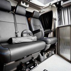 "Traditional ""Lux"" Conversions - New Wave Custom Conversions Vw T5 Interior, Campervan Interior, Vw Camper Conversions, T2 T3, General Motors, Land Rover Defender, Motorhome, Solar Power, Campers"
