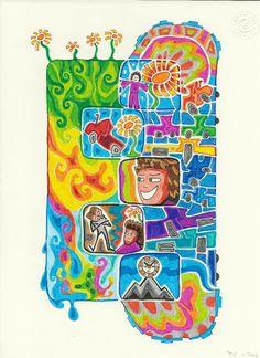 Die Blumenwiesenfee Illustration 26 Wunder Enamel, Illustration, Vitreous Enamel, Enamels, Illustrations, Tooth Enamel, Glaze