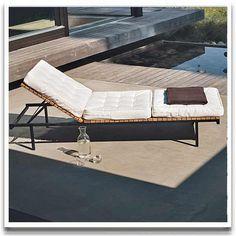 Design by Joacim Wahlström & Carl Jägnefält. Outdoor Sofa, Outdoor Furniture, Outdoor Decor, Open Plan, Sun Lounger, Interior, Terraces, Balconies, Design