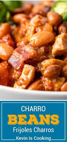 This is a delicious pinto beans side dish with smoky Mexican flavors. Make this frijoles recipe for a change from bbq baked beans! Recipe adapted from MEXICO - The Cookbook. Mexican Beans Recipe, Mexican Pinto Beans, Mexican Food Recipes, Ethnic Recipes, Best Side Dishes, Side Dish Recipes, Pork Recipes, Cooking Recipes, Main Dishes