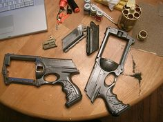 Good how to for making a steampunk nerf gun - Van Helsing