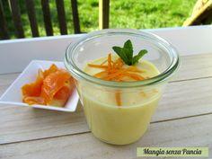 Una crema all'arancia vegan, senza uova e ideale per chi è intollerante al lattosio. Facilissima da preparare, pronta in 10 minuti e tanto golosa!