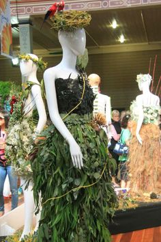 Floral Couture at the Melbourne International Flower and Garden Show 2014