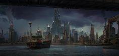 ArtStation - Dark City, Daniel Romanovsky