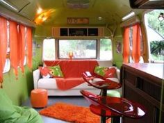 ...buy an airstream and decorate it super cool like this.