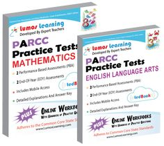 FREE eSample Copies of PARCC Practice Resources by Lumos Learning for Educators. Request access today!
