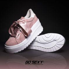 SUNRISE ROSA LAZO RASO - SNEAKER CON PLATAFORMA #gosexy #gosexyspain #gosexyoriginals #besexy #sneakersgosexy #sneakers #sneakersaddict #sneakerslove #fashion #shoes #cool #moda #style #platforms #platformsneakers #deportivo #casual #sexy