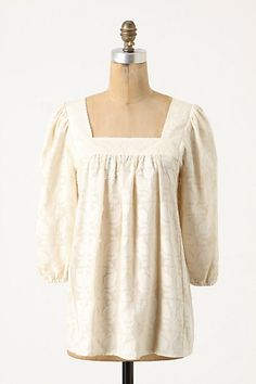 Peasant blouse, sewing idea
