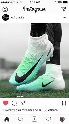 What You Need To Know About The Great Sport Of Football. There is no game that compares with football. Girls Soccer Cleats, Nike Cleats, Soccer Gear, Football Girls, Soccer Equipment, Play Soccer, Soccer Stuff, Cool Football Boots, Soccer Boots