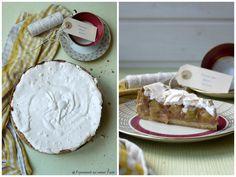 Experimente aus meiner Küche: Rhabarberkuchen mit Baiser