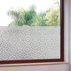 ColorfulHall 45 * 200 CM informativa sulla decorazione finestra pellicole per vetro: Amazon.it: Casa e cucina