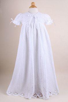 Crochet Baby Christening Gown Set | Christening Set | Christening | Small Order Store