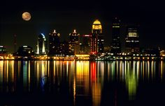louisville skyline night photos | ... Thunder Over Louisville - Best Places to Watch Thunder Over Louisville