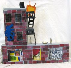 Artist Street- Inspired by Joesph Cornell Boxes - Artsonia Lesson Plan