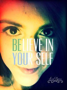 El creer en ti, hará posible la conquista de TUS SUEÑOS
