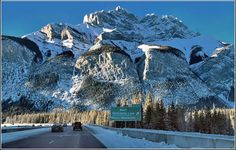 """Cascade Mountain, Banff AB - Banff, Alberta """"O.K. now, that's just showing off!"""""""
