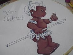 Pintura en Tela - Guerrero Africano Parte 1 - YouTube