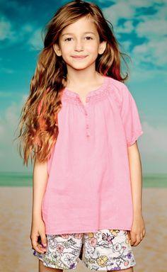 Creamie pink blouse