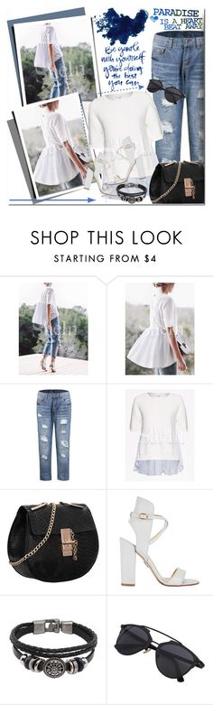 """Paradise is a heart beat away"" by angel-a-m on Polyvore featuring Paul Andrew, polyvoreeditorial and polyvorefashion"