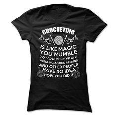 ( T-Shirt) CROCHETING Tshirt  Order Online