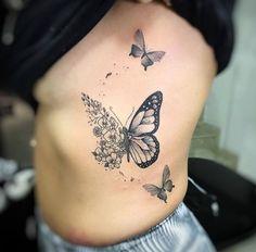butterfly tattoo meaning ; butterfly tattoo behind ear ; Mini Tattoos, Sexy Tattoos, Cute Tattoos, Body Art Tattoos, Small Tattoos, Sleeve Tattoos, Tatoos, Tattoo Arm, Butterfly Tattoos For Women