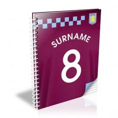 Personalised Aston Villa Shirt Notebook Our personalised Aston Villa Shirt notebook is a great gift for any occasion. The notebook consists of 40 double sided lined pages and can be personalised up to 14 characters. Featuring the club crest http://www.MightGet.com/may-2017-1/personalised-aston-villa-shirt-notebook.asp