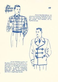 Lutterloh 1938 Book Of Cards -  Models  Card 49