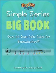 NEW AND IMPROVED! We now provide a COLOR KEY, a NOTES USED KEY and SINGLE PAGE versions for each song. (Great for digital projection boards.) Cover all your Boomwhackers® sheet music bases with this AWESOME resource. Get over 60 songs from our best selling simple series in one collection!