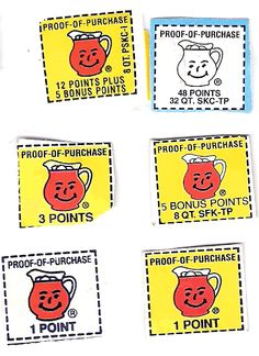 Kool Aid Points - redeem for cool stuff. I still have the plastic stirring spoon I got for redeeming points. Right In The Childhood, 90s Childhood, Childhood Memories, Kool Aid Man, Redeem Points, Back In My Day, Born This Way, 90s Nostalgia, I Remember When