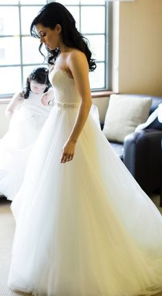 Ball Gown V Neck Lace Sweep Train Liques Wedding Dresses Usd 333 75 Bridal Pinterest Gowns Dress And