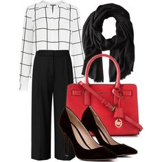 A fashion look from January 2015 featuring Warehouse blouses, Reiss pants and MICHAEL Michael Kors tote bags. Browse and shop related looks. Michael Kors Tote Bags, Reiss, Warehouse, January, Fashion Looks, Blouses, Style Inspiration, Shoe Bag, Pants