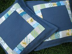 Quilted cushions | La vida compartida