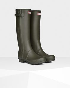 Hunter UK | Botas De Agua Ajustada Con Cremallera Original | Official Site