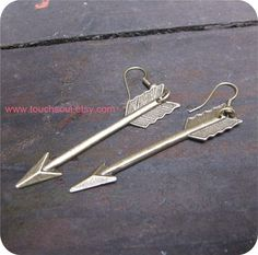 The Hunger Games Inspired Katniss Arrow earrings