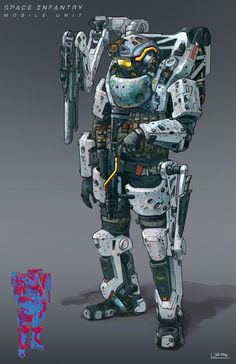 Space Infantry_Mobile Unit by Jia How Lee | Sci-Fi | 2D | CGSociety