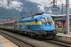 ÖBB 1116 029-8 Schweden, Innsbruck Hbf | Flickr - Photo Sharing!