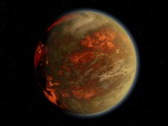 Gliese 436 b (The planet of burning ice)