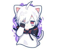 kobayashi-san chi no maid dragon elma chibi stiquer Anime Neko, Kawaii Anime Girl, Otaku Anime, Anime Boys, Neko Kawaii, Anime Cat Boy, Cute Anime Chibi, Cute Anime Pics, Anime Art