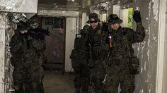 Polish army reconstruction, CQB training, Airsoft