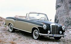 1956 Mercedes-Benz S-Class Cabriolet Wallpaper #10408