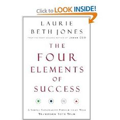 Recommended by Career Expert Michael McClure:  Amazon.com: The Four Elements of Success: A Simple Personality Profile that will Transform Your Team (9780785288107): Laurie Jones: Books