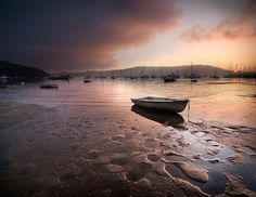 Pittwater Sunrise by Brent Pearson